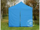 Kit de muros laterales para Carpa plegable FleXtents 4x8m, Azul - 2